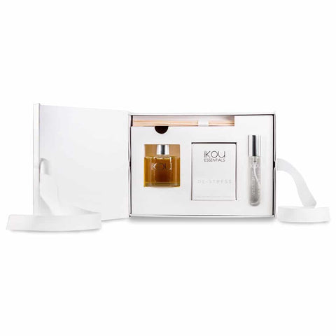 iKOU - Aromatherapy Home Fragrance Gift Pack - De-Stress - Oscura - Bath, Body & Home Fragrance