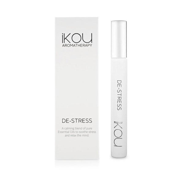 iKOU - De-Stress - Aromatherapy Roll On 10ml - Oscura - Bath, Body & Home Fragrance