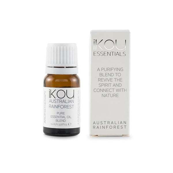 iKOU - Essentials - Essential Oil Blend 10ml - Australian Rainforest - Oscura - Bath, Body & Home Fragrance