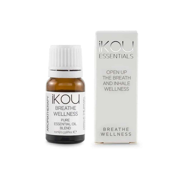 iKOU - Essentials - Essential Oil Blend 10ml - Breathe Wellness - Oscura - Bath, Body & Home Fragrance