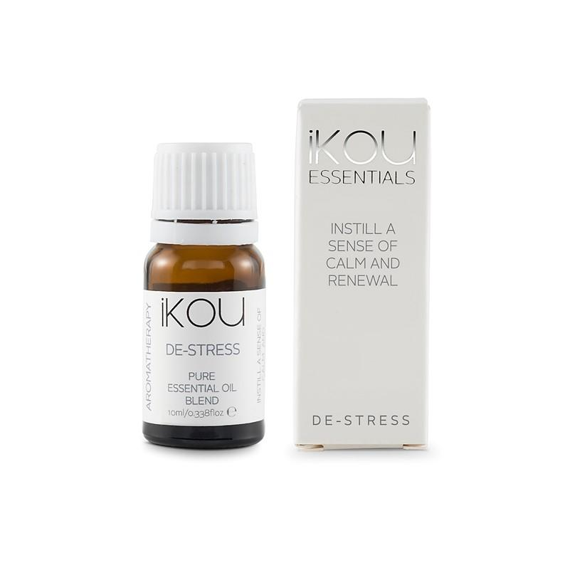 iKOU - Essentials - Essential Oil Blend 10ml - De-Stress - Oscura - Bath, Body & Home Fragrance