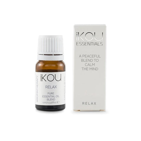 iKOU - Essentials - Essential Oil Blend 10ml - Relax - Oscura - Bath, Body & Home Fragrance