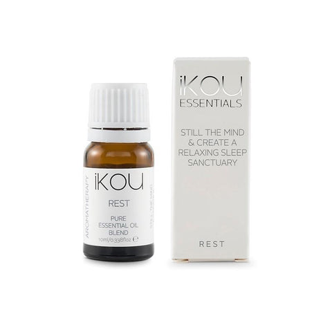 iKOU - Essentials - Essential Oil Blend 10ml - Rest - Oscura - Bath, Body & Home Fragrance