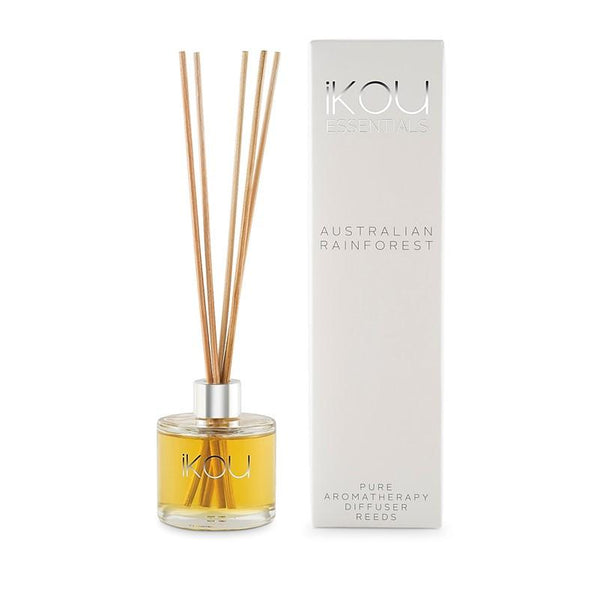 iKOU - Essentials - Mini Reed Diffuser 50ml - Australian Rainforest