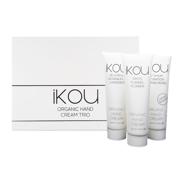 iKOU - Gift Pack - Organic Hand Cream Trio - 3x30ml