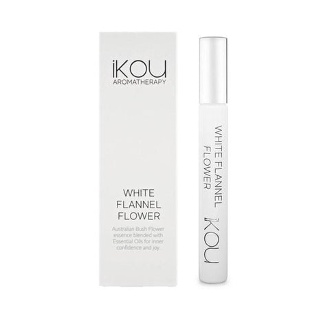 iKOU - White Flannel Flower - Aromatherapy Roll On 10ml