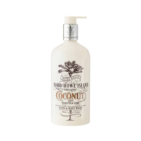 Maine Beach - Lord Howe Island - Hand & Body Wash 500ml - Coconut & Tahitian Lime