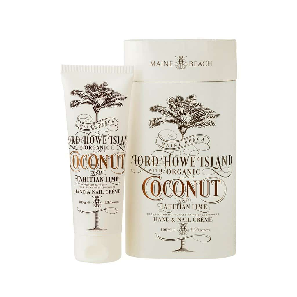 Maine Beach - Lord Howe Island - Hand & Nail Cream 100ml - Coconut & Tahitian Lime