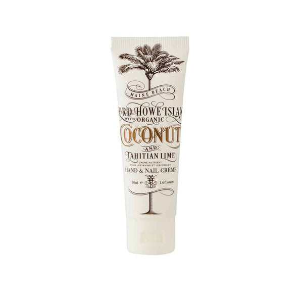 Maine Beach - Lord Howe Island - Hand & Nail Cream 50ml - Coconut & Tahitian Lime
