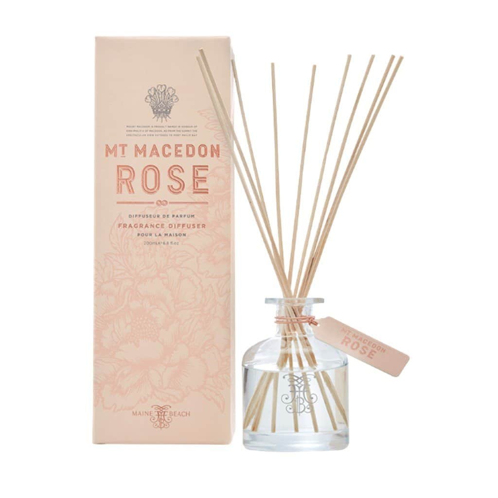 Maine Beach - Mt Macedon Rose - Diffuser 200ml - Rose