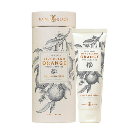 Maine Beach - Riverland Orange - Hand & Nail Cream 100ml