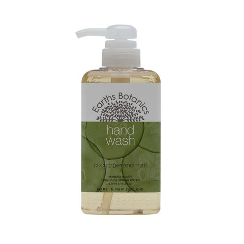 Matakana Botanicals - Earths Botanics - Hand Wash 425ml - Cucumber & Mint