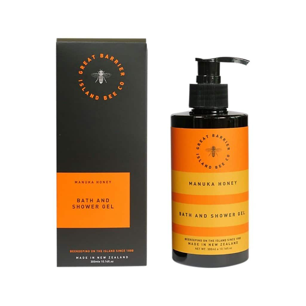 Matakana Botanicals - Great Barrier Island Bee Co. - Bath & Shower Gel 300ml - Manuka Honey