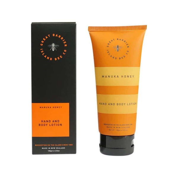 Matakana Botanicals - Great Barrier Island Bee Co. - Hand & Body Lotion 100ml - Manuka Honey