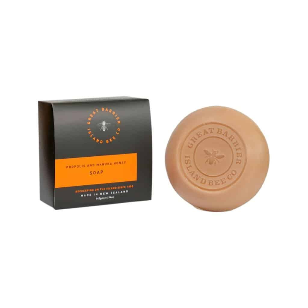 Matakana Botanicals - Great Barrier Island Bee Co. - Triple Milled Soap 140g - Manuka Honey