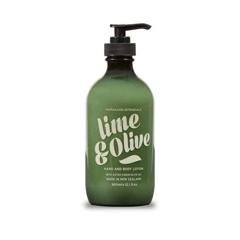 Matakana Botanicals - Provincial - Hand & Body Lotion 360ml - Lime & Olive