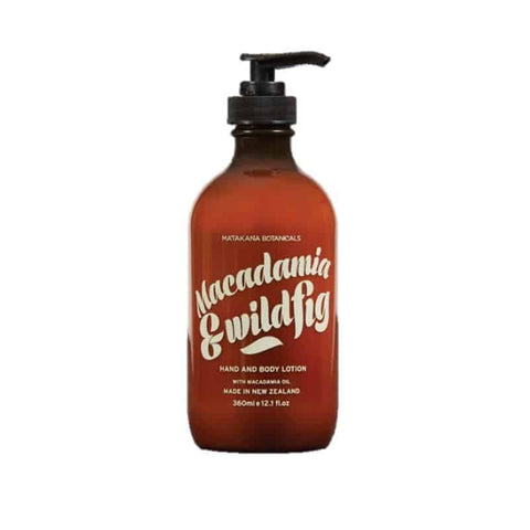 Matakana Botanicals - Provincial - Hand & Body Lotion 360ml - Macadamia & Wild Fig