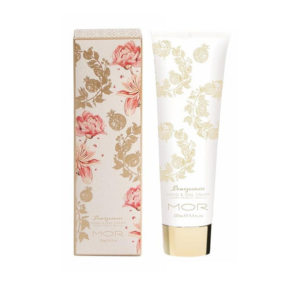 MOR - Hand & Nail Cream 125ml - Pomegranate
