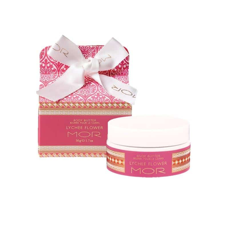 MOR - Little Luxuries - Body Butter 50g - Lychee Flower
