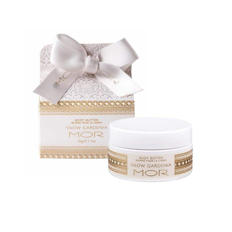 MOR - Little Luxuries - Body Butter 50g - Snow Gardenia