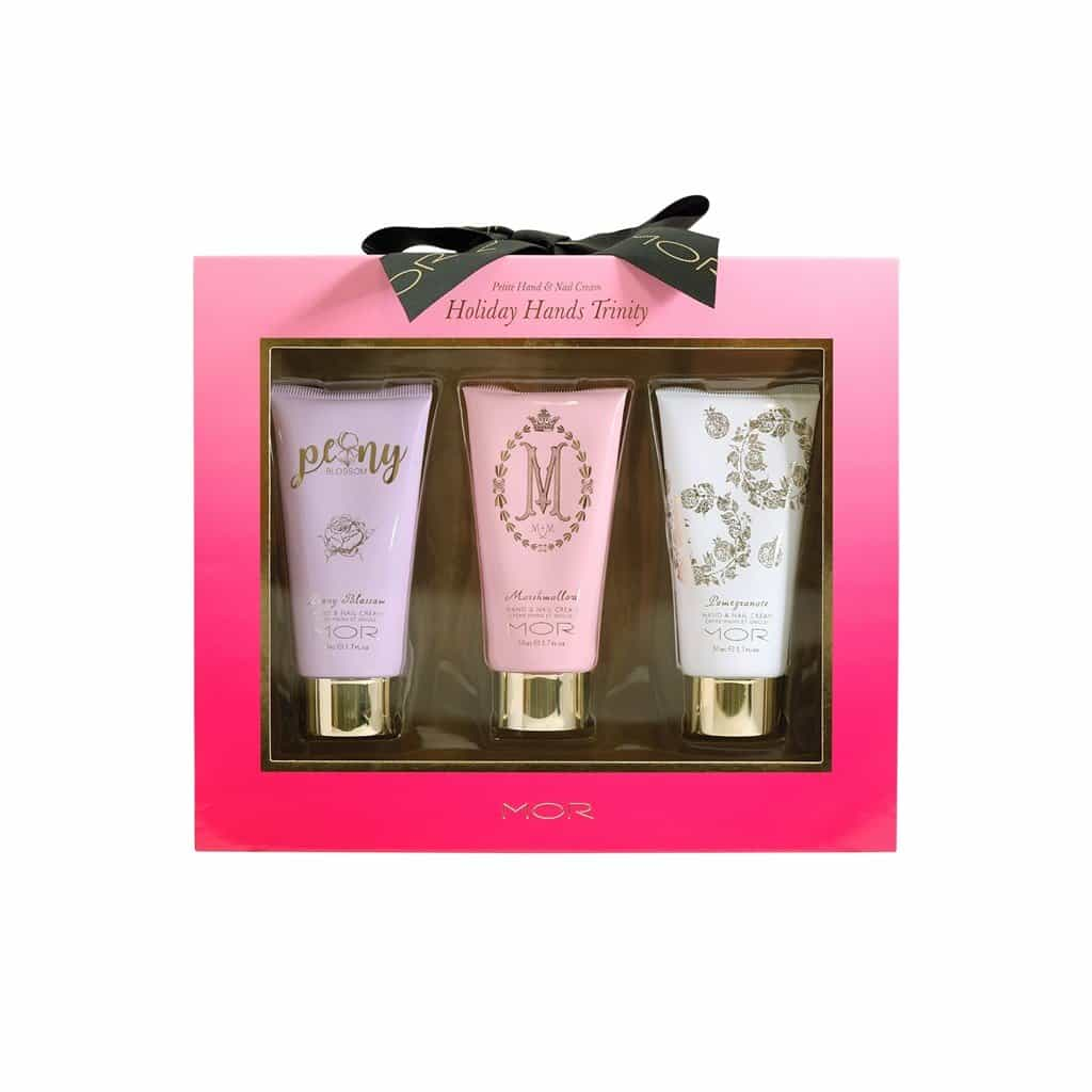 MOR - Signature Florals - Holiday Hands Trinity Gift Pack