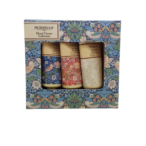 Morris & Co. - Strawberry Thief - Hand Cream Collection - 3x30ml