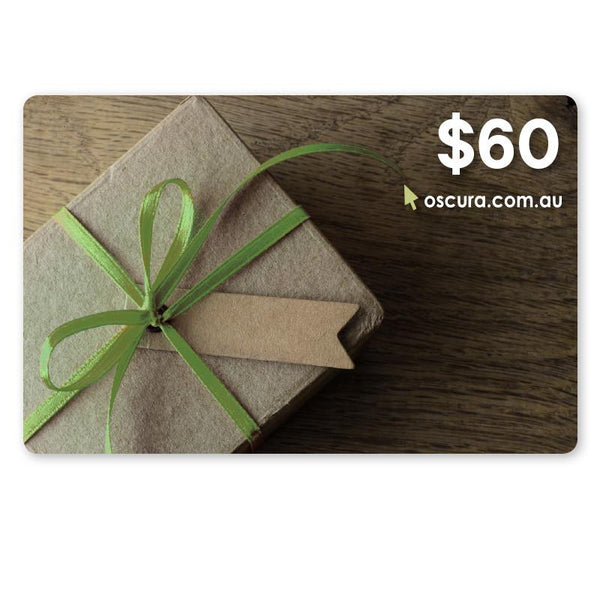 Oscura - Gift Card - $60.00 (AUD)