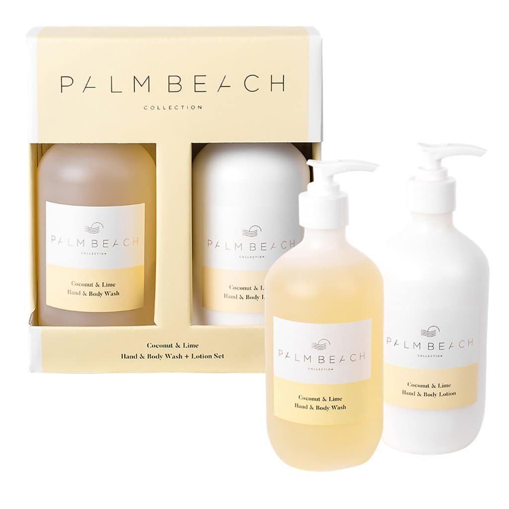 Palm Beach Collection - Hand & Body Wash & Lotion Set - Coconut & Lime