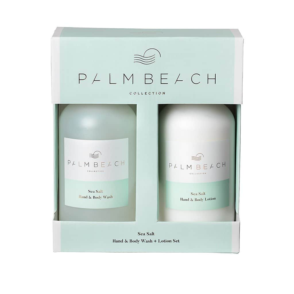 Palm Beach Collection - Hand & Body Wash & Lotion Set - Sea Salt