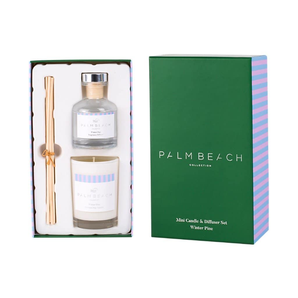 Palm Beach Collection - Mini Candle & Diffuser Set - Winter Pine