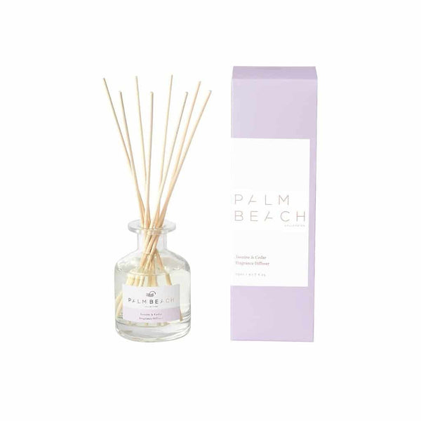 Palm Beach Collection - Mini Fragrance Diffuser 50ml - Jasmine & Cedar