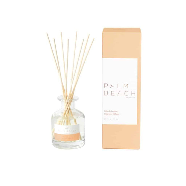 Palm Beach Collection - Mini Fragrance Diffuser 50ml - Lilies & Leather