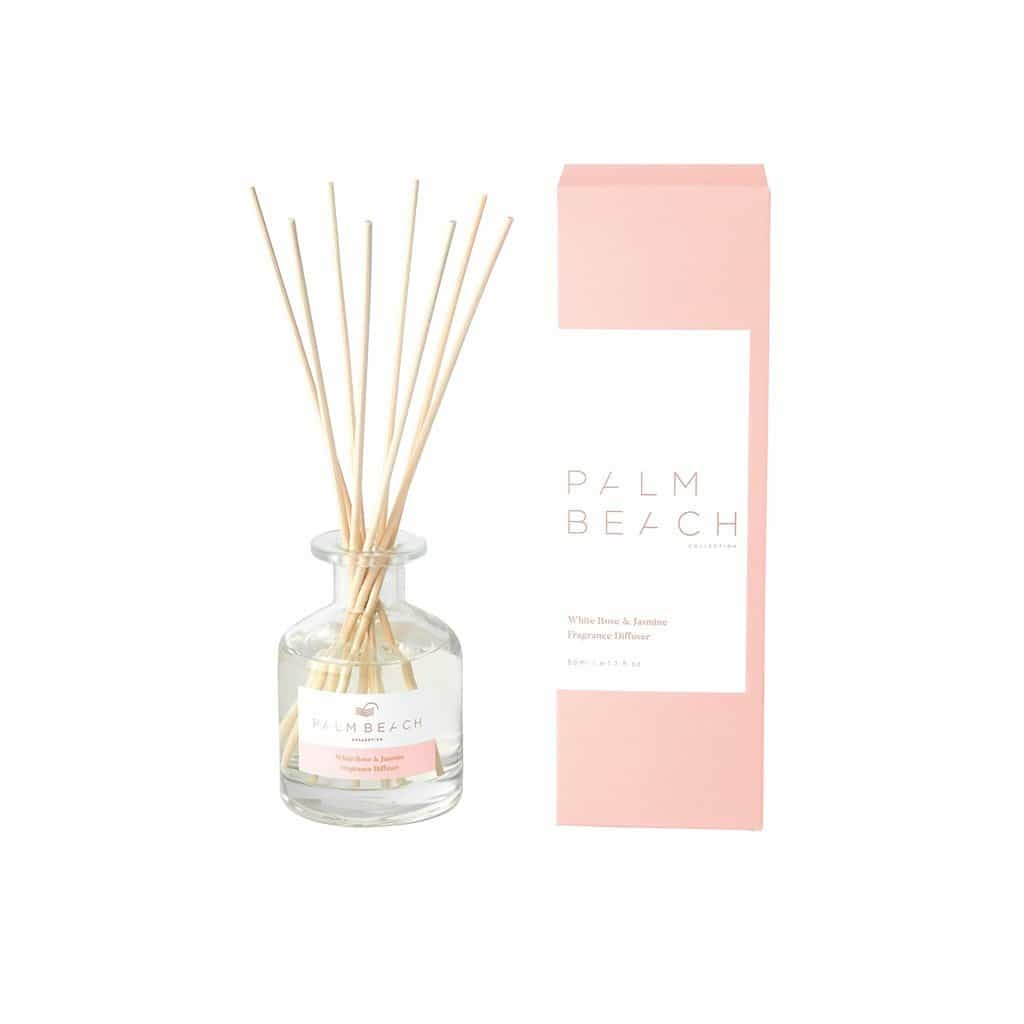 Palm Beach Collection - Mini Fragrance Diffuser 50ml - White Rose & Jasmine