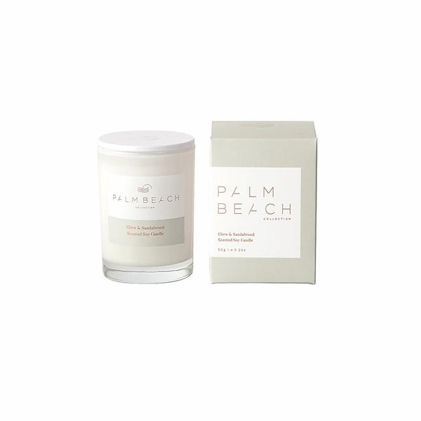 Palm Beach Collection - Mini Scented Soy Candle 90g - Clove & Sandalwood