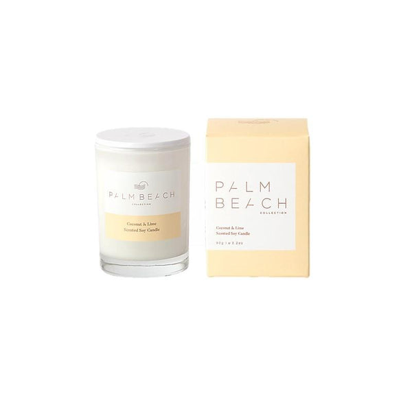 Palm Beach Collection - Mini Scented Soy Candle 90g - Coconut & Lime