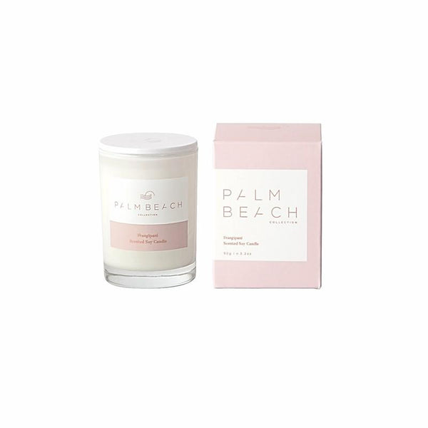 Palm Beach Collection - Mini Scented Soy Candle 90g - Frangipani