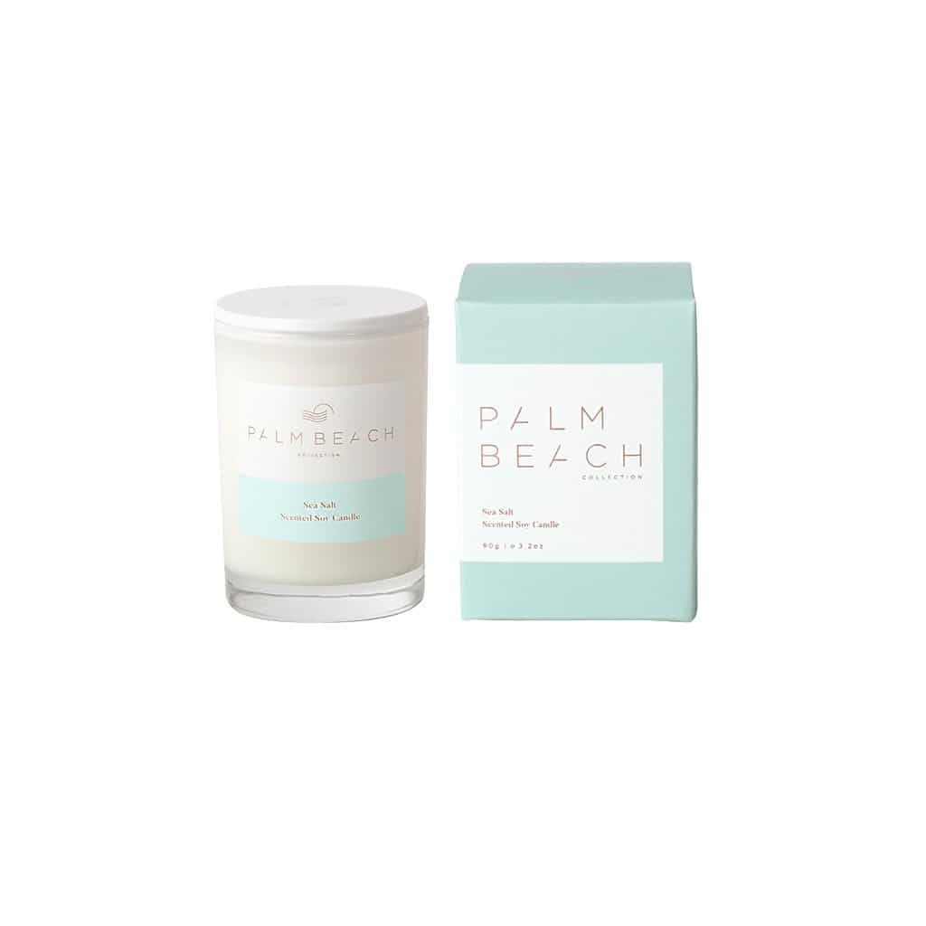 Palm Beach Collection - Mini Scented Soy Candle 90g - Sea Salt