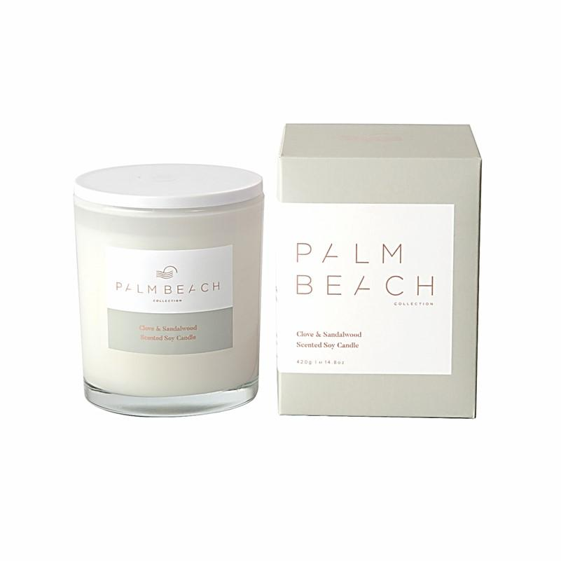 Palm Beach Collection - Scented Soy Candle 420g - Clove & Sandalwood
