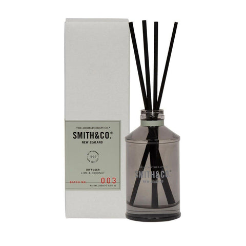 Smith & Co. - Diffuser 250ml - Lime & Coconut