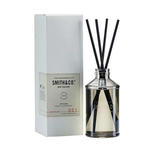 Smith & Co. - Diffuser 250ml - Tabac & Cedarwood