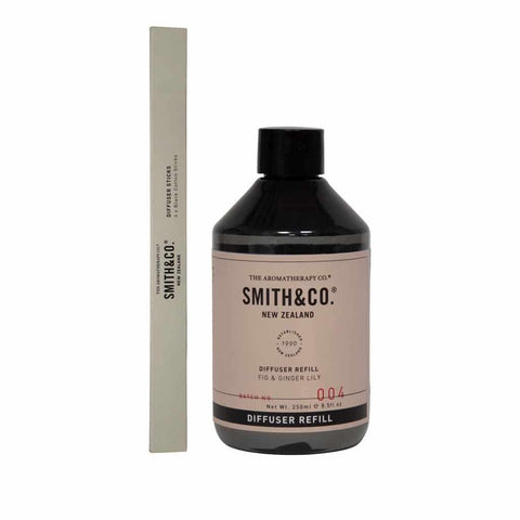 Smith & Co. - Diffuser Refill 250ml - Fig & Ginger Lily