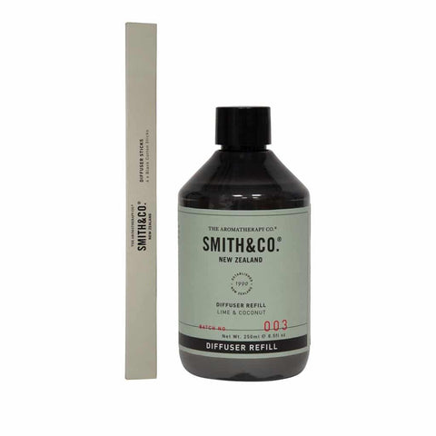 Smith & Co. - Diffuser Refill 250ml - Lime & Coconut