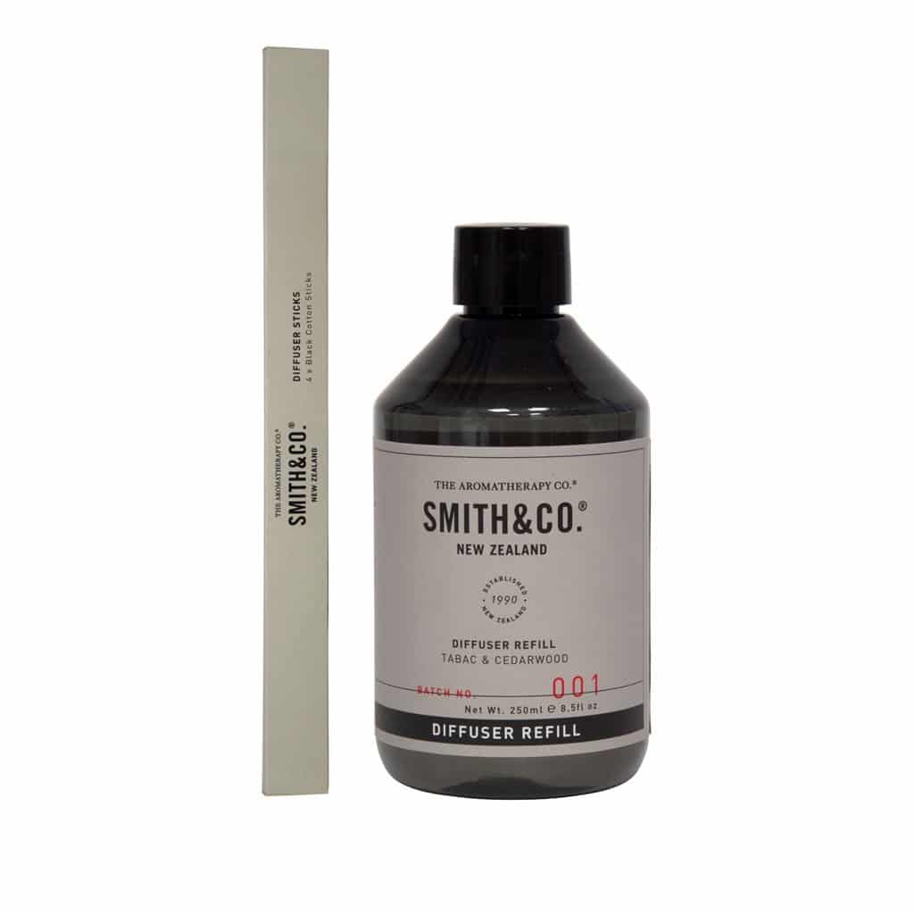 Smith & Co. - Diffuser Refill 250ml - Tabac & Cedarwood
