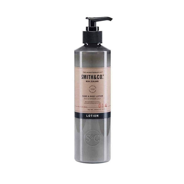 Smith & Co. - Hand & Body Lotion 400ml - Fig & Ginger Lily