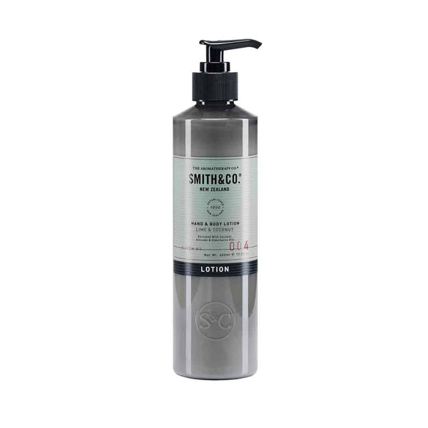 Smith & Co. - Hand & Body Lotion 400ml - Lime & Coconut