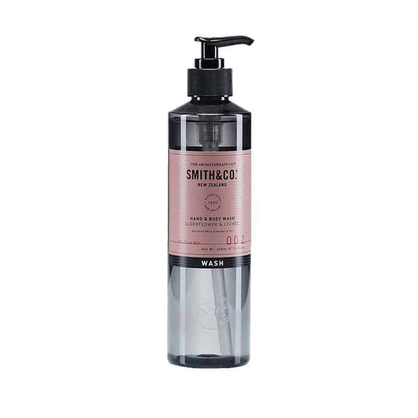 Smith & Co. - Hand & Body Wash 400ml - Elderflower & Lychee