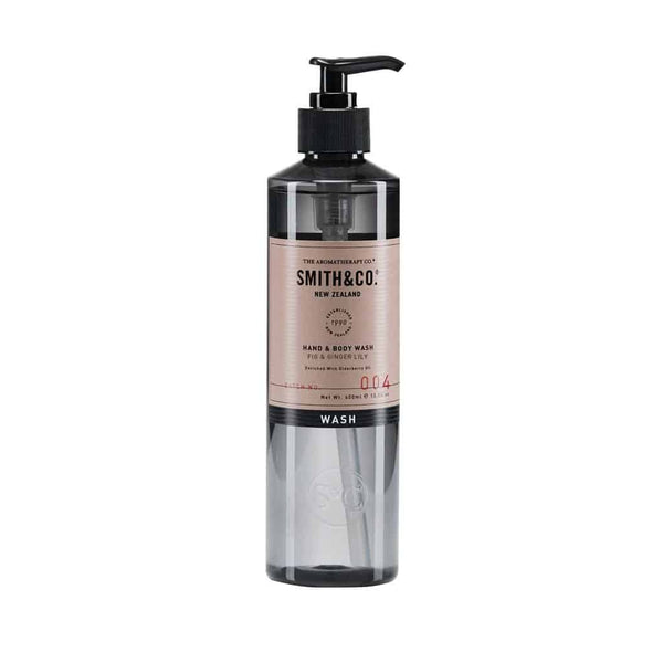 Smith & Co. - Hand & Body Wash 400ml - Fig & Ginger Lily