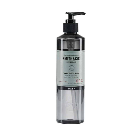 Smith & Co. - Hand & Body Wash 400ml - Lime & Coconut