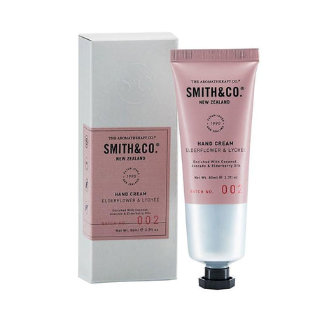 Smith & Co. - Hand Cream 80ml - Elderflower & Lychee
