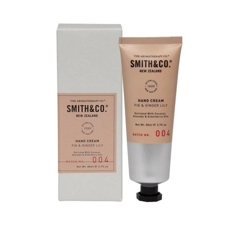 Smith & Co. - Hand Cream 80ml - Fig & Ginger Lily
